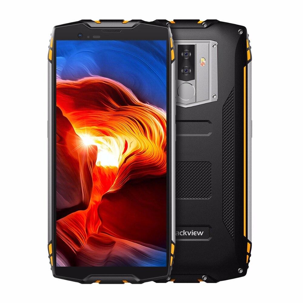 """Blackview BV6800 Pro 5,7 """"смартфон IP68 Водонепроницаемый mt6750t восемь ядер 4 ГБ + 64 ГБ 6580 мАч Батарея Беспроводной зарядки мобильный телефон nfc"""