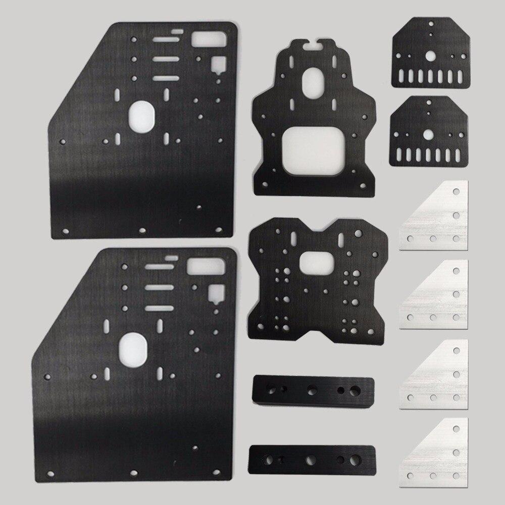 Openbuilds OX CNC machine Parts OX router NEMA 23 Aluminum Gantry Plates kit