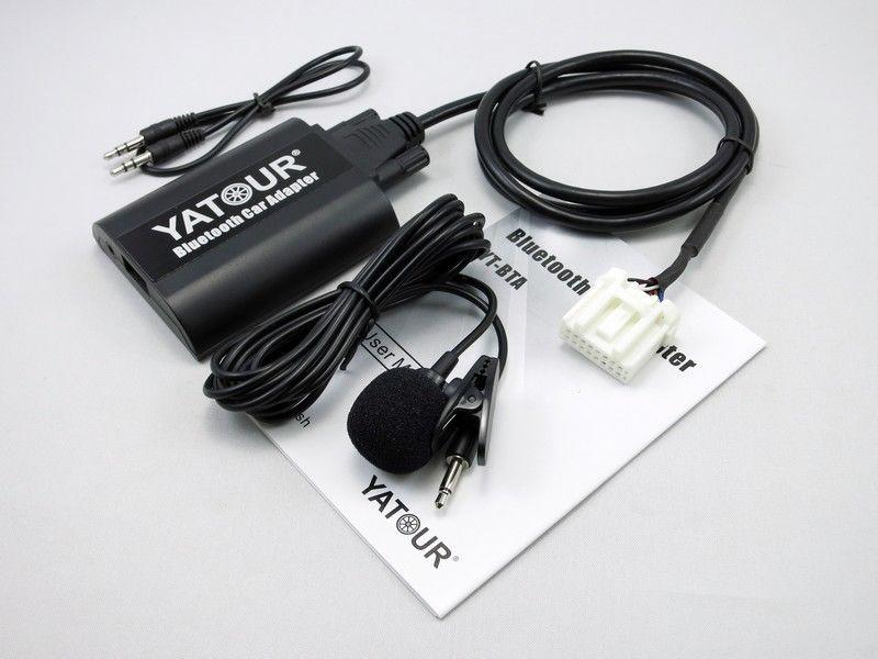 Yatour BTA autoradio Bluetooth Kit MP3 pour Mazda 3/5/6 Miata/MX5 MPV 2003-2008 yt-bta Audio lecteur MP3 adaptateur Bluetooth BT