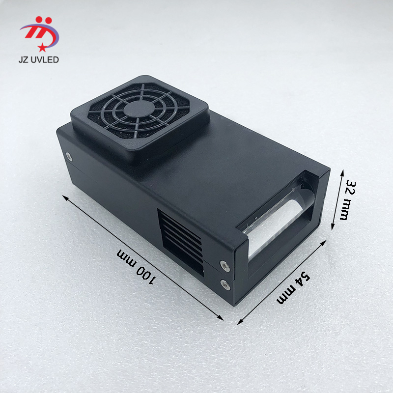 Fan Cooling Small Uv Lampe 395nm Linear LED Curing Device For DX5 Uv Flatbed Printer Ink Curing UV LED Gel The Cure 365nm Choose