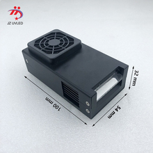 Fan cooling small uv lampe 395nm linear LED curing device for DX5 Uv flatbed printer ink Curing UV gel the cure 365nm choose