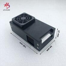 Ventilador de refrigeração pequeno uv lampe 395nm linear led cura dispositivo para dx5 uv flatbed impressora tinta cura uv led gel a cura 365nm escolher