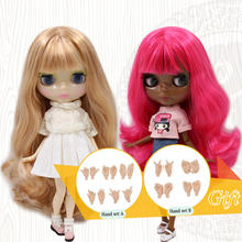 ICY Nude Blyth Doll 6 kinds of skin tone and hair color with big breast Factory Blyth(China)