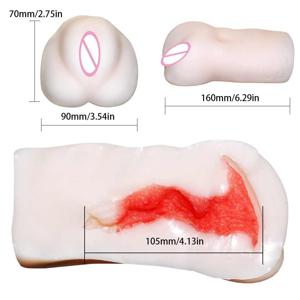 Male Masturbator cup Artificial Vagina Aircraft Cup Baby Pussy Inflatable doll ,3D vagina,sex pussy,sex toy Sex products