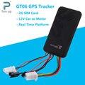 GT06 Автомобильный GPS Tracker GSM SMS GPRS Устройство Слежения Монитор Локатор Пульт Дистанционного Управления для Мотоцикла Скутер Без Коробки