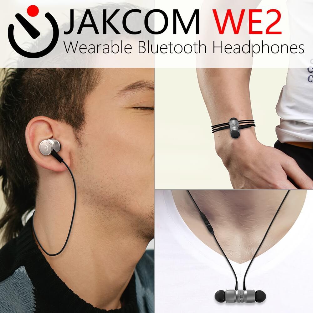 bilder für JAKCOM WE2 Wearable Bluetooth Kopfhörer Neue produkte von handyzubehör drahtlose kopfhörer bluetooth lauf kopfhörer
