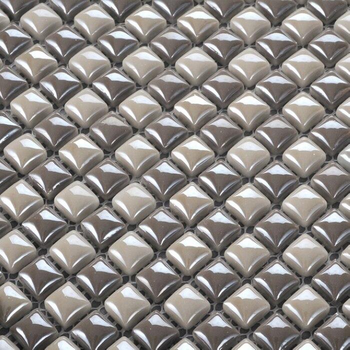 ộộ Szary Kolor Mini 1212mm Płytki Ceramiczne Mozaiki Dla