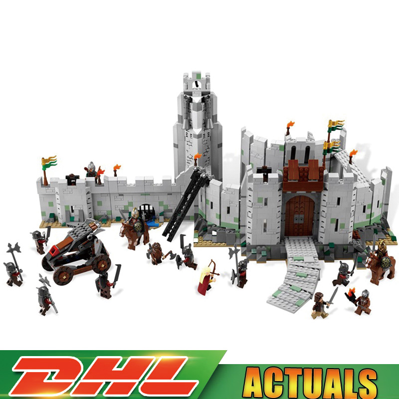 Lepin 16013 1368Pcs The Lord of The Rings The Battle of Helm' Deep Model Building Blocks Bricks Toy Compatible Legoings 9474