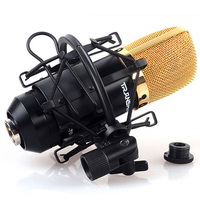 Professional Metal Mic Microphone Shock Mount Clip Holder Stand Radio Studio Sound Recording Bracket High Quality