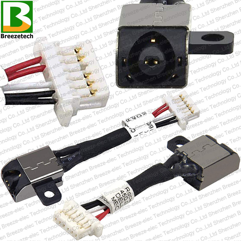 DC Power Jack Cable Charging Port Socket For Dell Inspiron P24T P25T Laptop