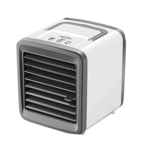 HOT!Mini Portable Usb Air Conditioner Humidifier Purifier Light Desktop Air Cooling Fan Air Cooler Fan For Office Home|Fans| |  -
