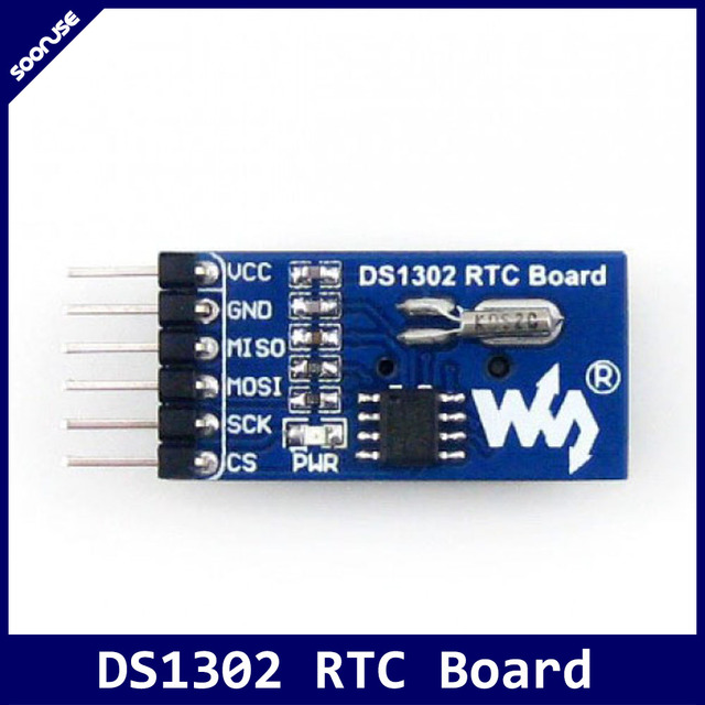 rtc ds1302 real time klok rtc module met cr1220 batterijhouder spirtc ds1302 real time klok rtc module met cr1220 batterijhouder spi interface voor avr arm