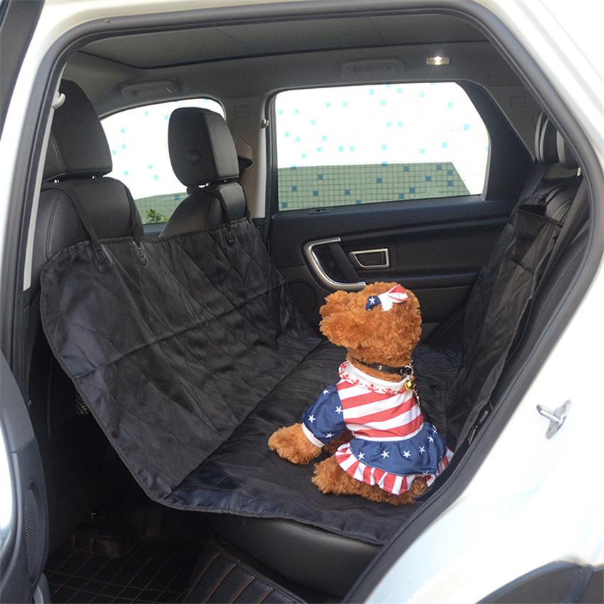 Home & Garden Pet Products Waterproof Pet Seat Cover 600d Oxford Non-slip Pet Dog Car Seat Rear Back Seats Hammock Of Pets Dog Car Mat Travel Accessories