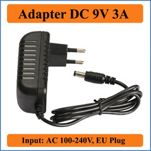 9V 3A EU Plug AC DC Adapter Hot AC 100-240V to DC 9V 3A Switching Power Supply Converter Adapter Charger