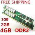 Atacado Brand New Selado DDR2 800/PC2 6400 1 GB 2 GB 4 GB Desktop Memória RAM compatível com DDR 2 667 MHz/533 MHz Em Estoque