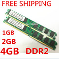 Comercio al por mayor Brand New Sealed DDR2 800/PC2 6400 1 GB 2 GB 4 GB Memoria RAM de escritorio compatible con DDR 2 667 MHz/533 MHz En Stock