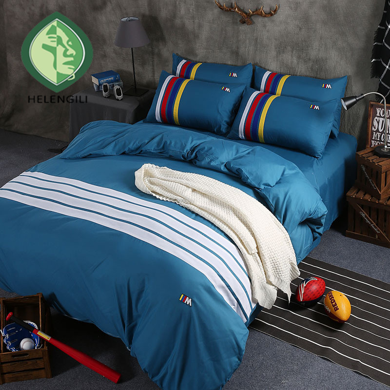 Four pure suite Students dormitory Bed single and double twin full queen king 4size