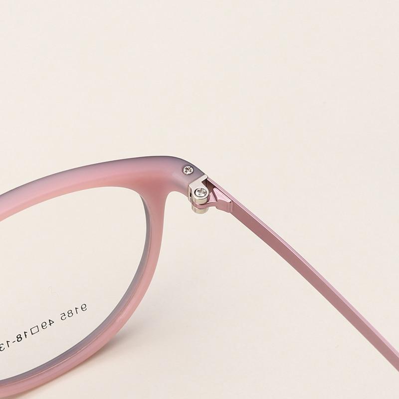 TR90 armação para oculos de grau feminino Olho De Gato Gatinho Moda de Grandes  Dimensões Oval Prescrição Óptica redondo armaçoes para oculos de grau para  ... b728b5762c