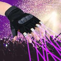 Kühlen Finger Laser Handschuhe Taschenlampe für Party Konzert Clubbing Hochzeit Geburtstag Party Outdoor Nacht Aktivitäten