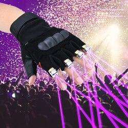 Linterna con guantes láser para fiestas, conciertos, discotecas, bodas, cumpleaños, actividades nocturnas al aire libre
