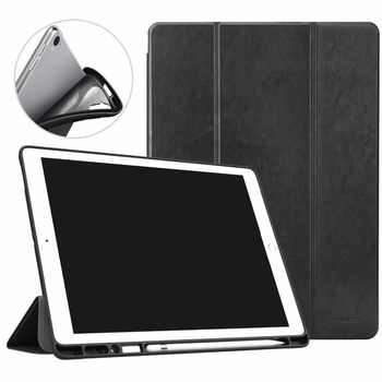 MoKo Case for iPad Pro 12.9 2017/2015 with Apple Pencil Holder - Slim Lightweight Smart Shell Stand Cover Case with Auto Wake - DISCOUNT ITEM  30% OFF All Category