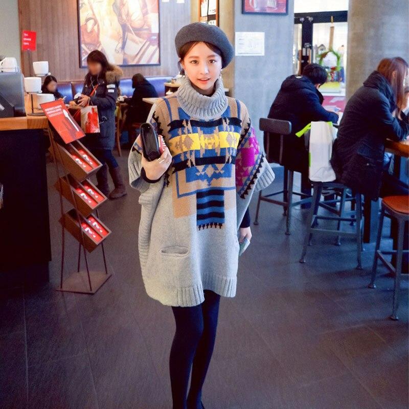 Mode automne et hiver vêtements de maternité vêtements de dessus et manteaux femmes pull de grande taille vestes enceintes vêtements vestes