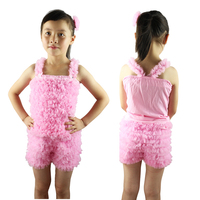 New 2016 Summer Baby Girl Clothing Sets Fashion 100 Cotton Lining Chiffon Ruffles Sleeveless Tank Tops