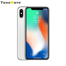 "Get more info on the Original Unlocked iPhone X Face ID 5.8"" 3GB RAM 64GB/256GB ROM iOS A11 Hexa Core phone IP67 waterproof Dual Back Camera 4G LTE"