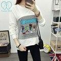 6112 # de La Moda de Algodón Camisetas De Maternidad De Enfermería Madre 2016 Otoño Camisas Camisetas Tops Ropa de Lactancia Materna Lactancia