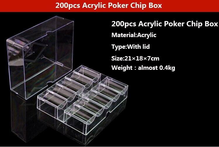 Jogo de casino profissional quente transparente poker