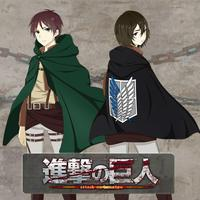 Anime Attack On Titan Cloak Cosplay Costume anime cosplay black/green Cape men/women clothes