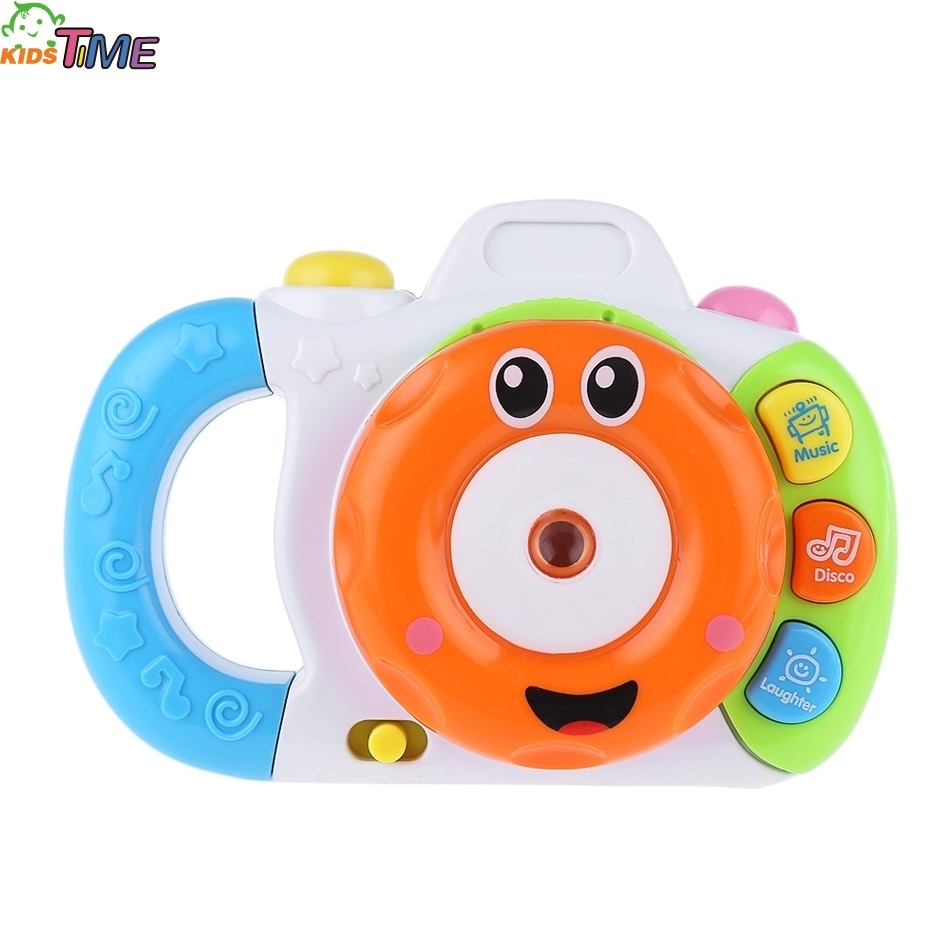 Basic Baby Cartoon Mini Shining Projection Sounding Camera Intelligence Toy Developing Children Imagination and Creativity