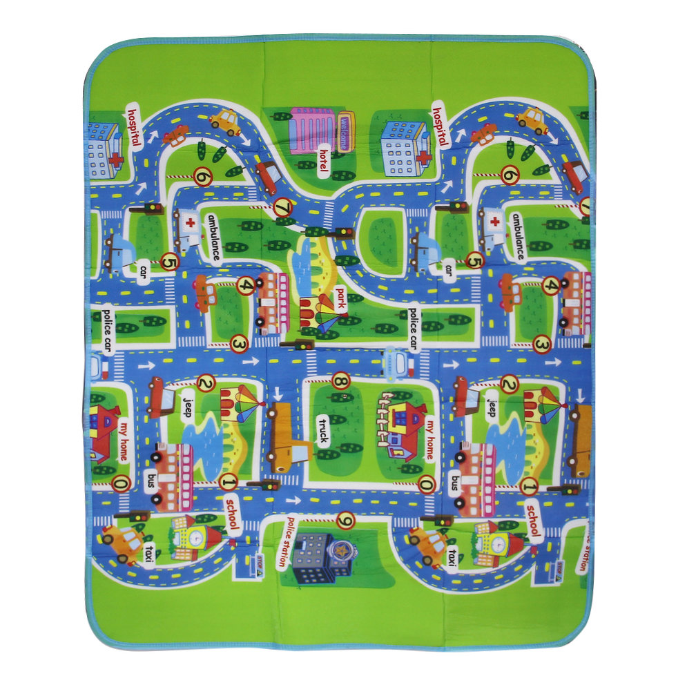 Baby Toy Rug: City Road Carpets For Children Carpet Baby Toys Rugs