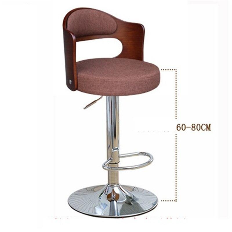 Купить с кэшбэком Tipos Stuhl Cadir Barkrukken Barstool Fauteuil Para Barra Sedie Table Stoelen Kruk Cadeira Silla Tabouret De Moderne Bar Chair