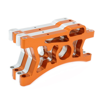 2x Rear Suspension Arm A Arm For Rc Hobby Model Car 1/5 Hpi Baja A85402 Upright Set Parts Suspension Arm Big Foot