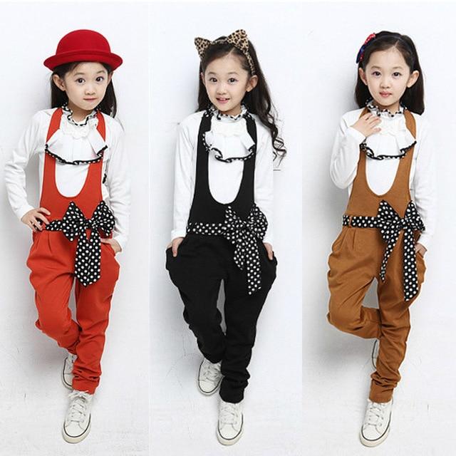 d54279284470c Niñas arco ropa 2015 muchachas del vestido de ropa de estilo europeo gran  juego de la