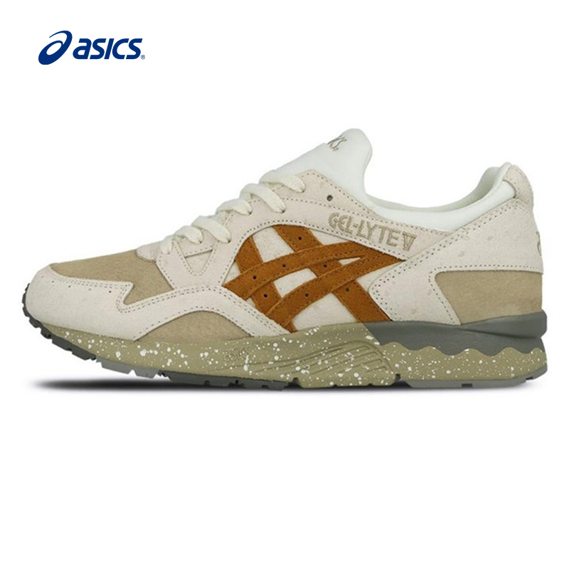 Original ASICS Men Shoes Breathable Anti-Slippery Cushioning Running Shoes Leisure Retro Sports Shoes Sneakers Outdoor Walking original asics gel lyte v gl5 women shoes cushioning anti slippery running shoe active retro sports shoes sneakers