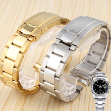 20MM Silver Gold Solid Stainless Steel Strap for116500LN-78590 | 116599 RBOW | Men's Watch Band