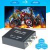 STEYR VGA To HDMI 1080P HD HDTV Video Audio Converter Box Adapter For DVD PC Laptop