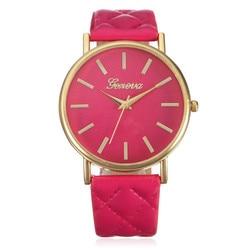 Wavors watches women fashion luxury watch plaid pu leather strap analog quartz ladies casual wrist watches.jpg 250x250