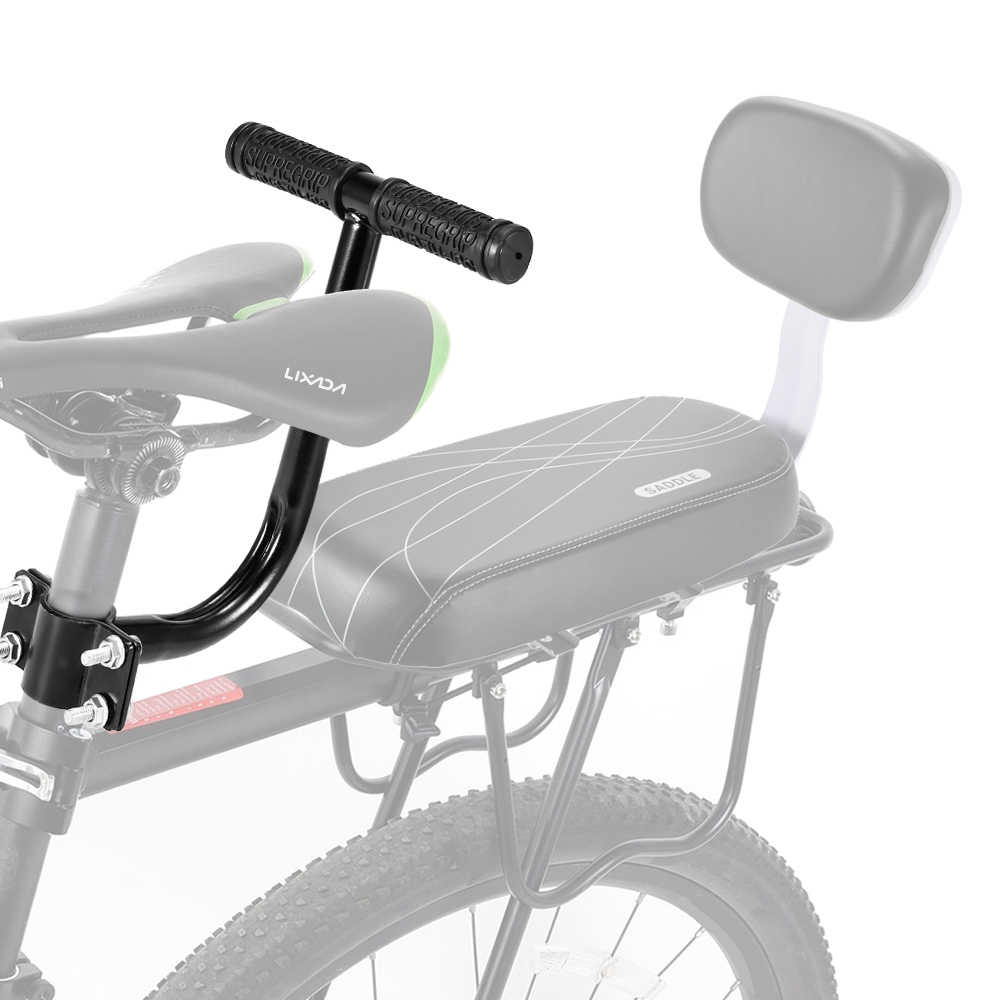 Kursi Belakang Sepeda Menangani Anak-anak Safety Handle Sepeda Anak Kursi Belakang Sandaran Tangan Sepeda Aksesori