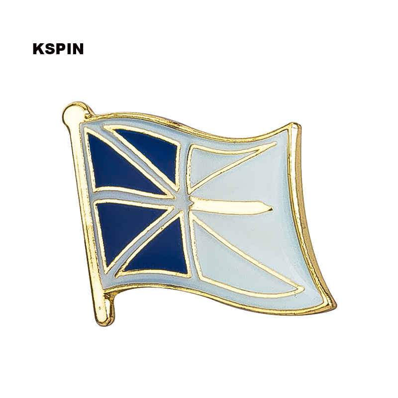 Metal Brooch New Brunswick Flag Lapel Pins Badges On A Pin Brooch Jewelry Rozetten Papier 300pcs Ks0224 Buy Now Badges