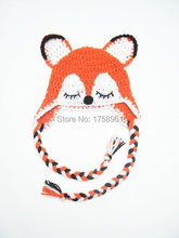 Newborn Fox hat, Newborn Photo Props, Baby Hat, Fox Ears hat, Animal Hat, Baby shower gift