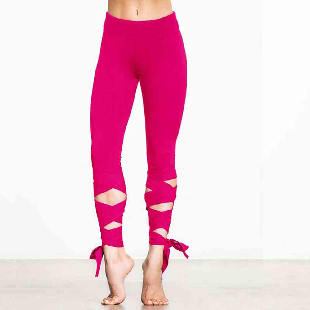 Womail Brand Hot Sale Elbows for fitness Women Sports Gym Yoga Workout Cropped Leggings Fitness Lounge Athletic Pants