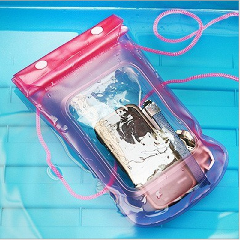 Waterproof Bag Case Cover Swimming Beach Pouch For iPhone Mobile Cell Phone, Water Sport Mobile Phone Waterproof PVC Storage Bag