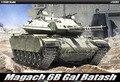 ACADEMIA 13281 1/35 Escala Magach 6B Gal Batash Kit Modelo de Construção de Plástico