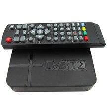 2016 Date Full HD 1080 P K2 DVB-T2 Numérique Vidéo Terrestre MPEG4 PVR Récepteur Smart STB TV Box Avec Télécommande contrôle