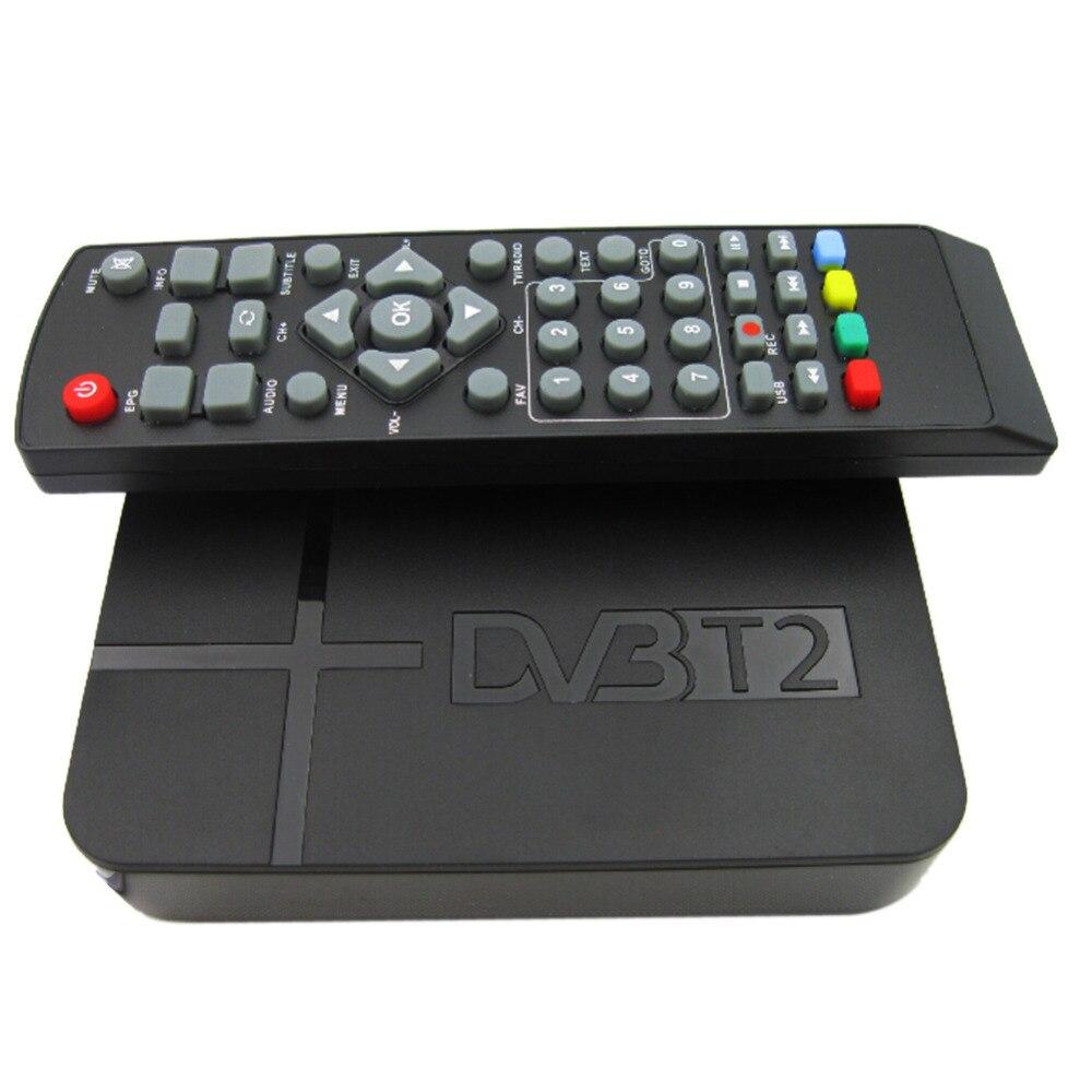 Full HD 1080 P K2 Video Digitale DVB-T2 Terrestre MPEG4 PVR Ricevitore Smart STB TV Box Con Telecomando