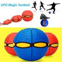 UFO Déformation Ballon De Football Volant Magique Football Plat Jeter Ball Jouet jeu Santé sport jouet pour enfants RC Cool Jouet Cadeau P6