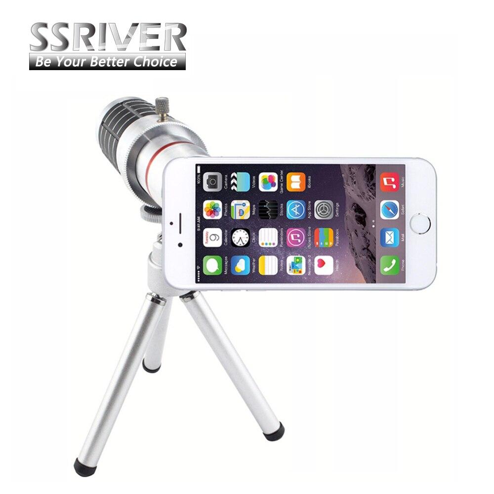 imágenes para SSRIVER para Apple iPhone 7 Smartphone Lens18x Zoom Óptico 18x Gopro lente de La Cámara Cubierta de la almohadilla Del Caso 18x Zoom lens